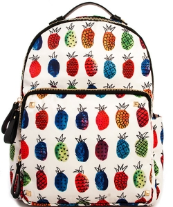 Nylon Backpack BGS-4511 38794 PINEAPPLE