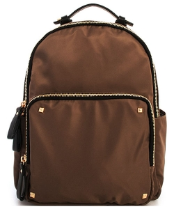 Nylon Backpack BGS-4511 38794 TAUPE