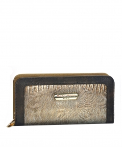Animal Skin Wallet Faux Leather BB104 38916 BZ