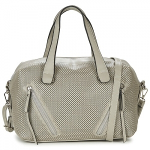 David Jones Faux Leather Handbag 5032-3 38951 Light Grey