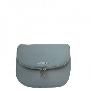 David Jones Body Crossbody Messenger  Faux Leather 5505-1 39213 Blue