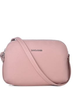 David Jones Body Crossbody Messenger  Faux Leather 5505-2 39219 Pink