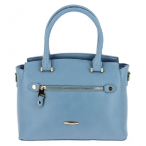 David Jones Faux Leather Mini Handbag 5527-2 39235 Blue