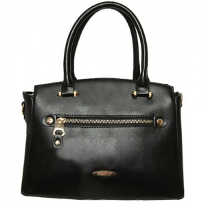 David Jones Faux Leather Handbag 5527-2 39235 Black