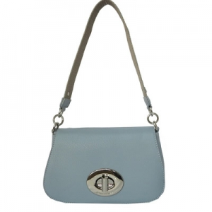 David Jones Body Crossbody Messenger  Faux Leather CM3333 Pale Blue CM3333 39259 Pale Blue