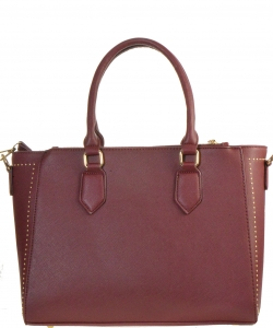 Faux Leather Shoulder  Handbag  Bgt-46407 39509