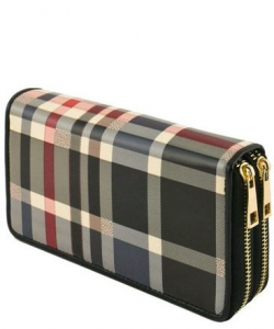 PRGZ-706 Zippered Fashion Wallet