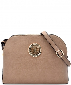 Messenger Handbag Design Faux Leather Classic Style WU40 NC