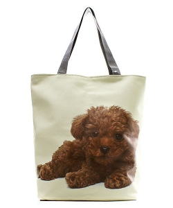 Brown Doggy Totes HandBag FC0020-3 39917