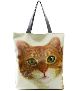 Brown Cat Totes HandBag FC0020-8 39922