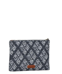 Clutch Design Flower Canvas Classic Style Bgs-15951 39930 Flower