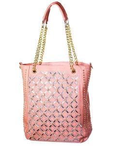 Rhinestone Tote Handbag Yn 203 39971 C