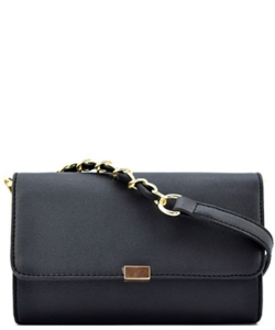 Designed Faux Leather Clutch K050 CROSS BODY PURSE