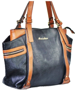 Modern Designer Faux Leather Handbag BKS6640