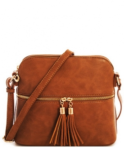 TWO COLOR CUTE CROSS BODY BAG DESIGN PRLP051