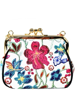 Fashion flower Clutch Satchel PR OC6465