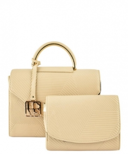 T8306 Classy Doctor Satchel SET with Clutch