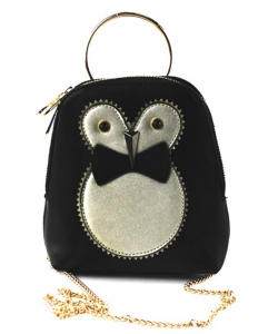 Cute Owl Pouch Purse,  Chain Strap Cross Body bag PR8530
