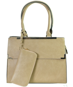 Two in One Tote Handbag Designer with Wallets L0565