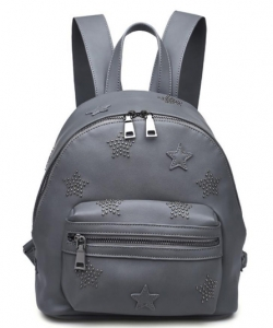 Smooth Vegan Leather Backpack 13395