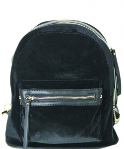 Mini Velvet Backpack 87350
