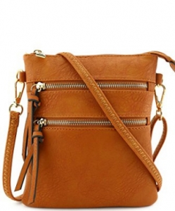 Functional Multi Pocket Crossbody Bag 80808A TN