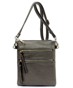 Functional Multi Pocket Crossbody Bag 80808A PW