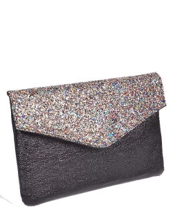 Glitter & Sparkle Envelope Clutch PPC5728