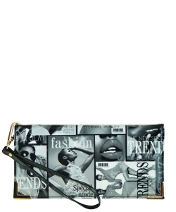 Magazine Fashion wallets NW9002 BLACK