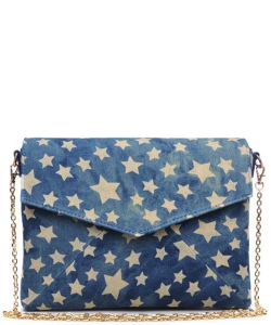 Mercury  Envelope Silhouette With All-Over Star Print 14139