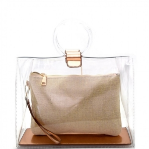 Clarity Rose Gold Carry Bag BGW2492