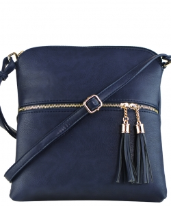 Tassel Accent Messenger Bag LP062 DSEA