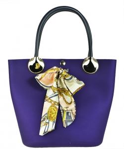 Quilted Jelly  Shoulder Bag A83011 PURPLE