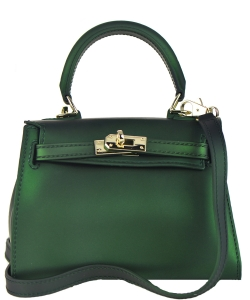 Quilted Jelly Small Shoulder Bag A83004 GREEN
