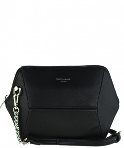 David Jones Faux Leather MINI Cross Body 57091 BLACK