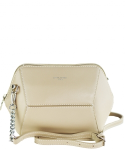 David Jones Faux Leather MINI Cross Body 57091 CAMEL