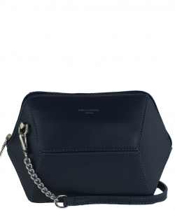 David Jones Faux Leather MINI Cross Body 57091 DBLUE