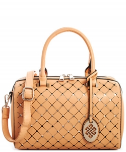 Trendy 2 In One Wholesale Fashion Handbag Set SM600 NUDE