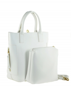 David Jones Tote handbag DT0053 WHITE