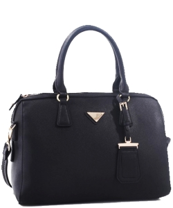 Triangle Charm & Fashion HandBag OCK62110 BLACK
