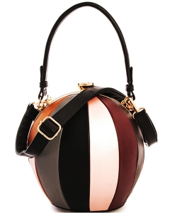 Fashion Ball Color Block  Handbag LW2038