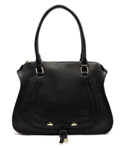 Designer Inspired Handbag 62749 BLACK