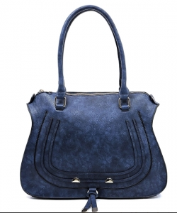 Designer Inspired Handbag 62749 NAVY