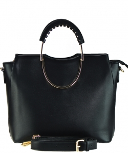 Fashion Tote Handbag Designer L0820 BLACK