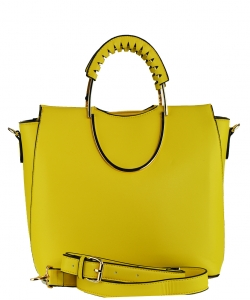 Fashion Tote Handbag Designer L0820 YELLOW