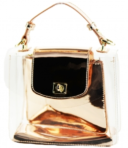 2 in 1 One Mini shoulder bag, One small zipper bag ES2225 RGD