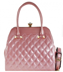 Fashion Women Bags Shoulder Bag Patent Leather Totes Crossbody Handbags L0762 PINK