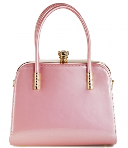 Fashion Women Bags Shoulder Bag Patent Leather Totes Crossbody Handbags L0761 PINK