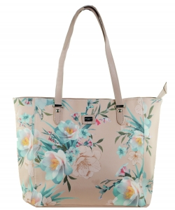 David Jones Flower Tote handbag 57333 PINK