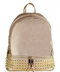 Trendy Wholesale Fashion Back Pack with studs LS1239A ROSE GOLD